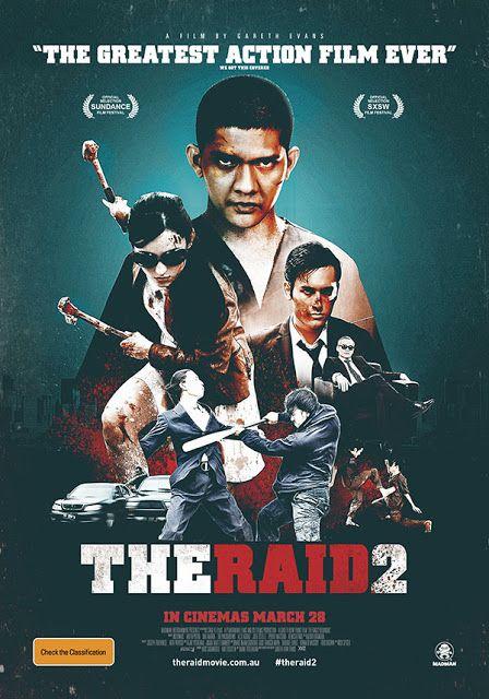 The Raid 2 Berandal 2014 Indonesian Movie Film Indonesia Seni