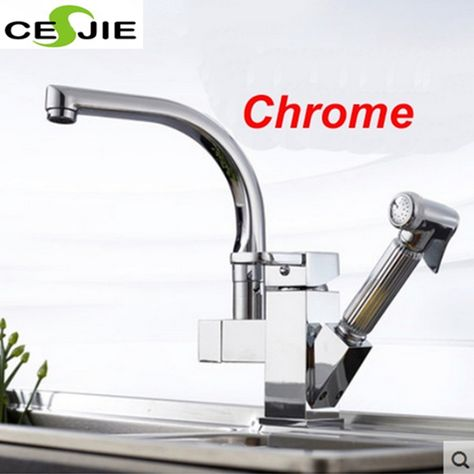 Faucets Home  Garden #ebay Products Pinterest Faucet and Products - wasserhahn küche mit brause