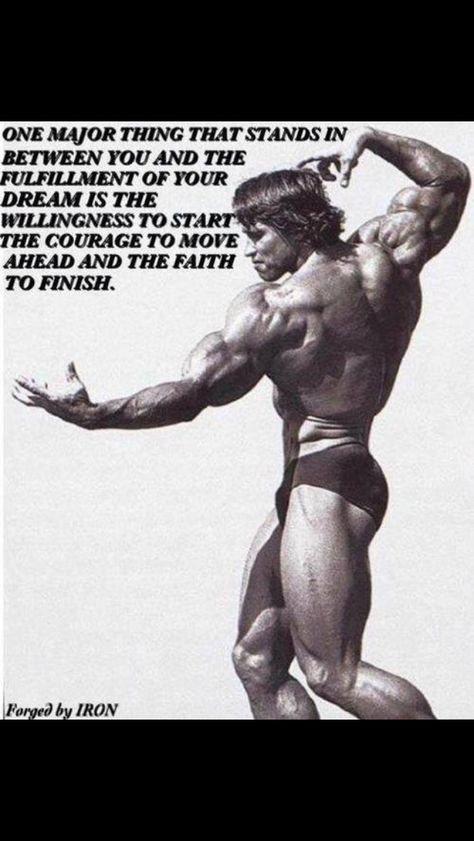Lift Heavy for More Muscle Weightlifting, Motivation inspiration - fresh arnold blueprint training review