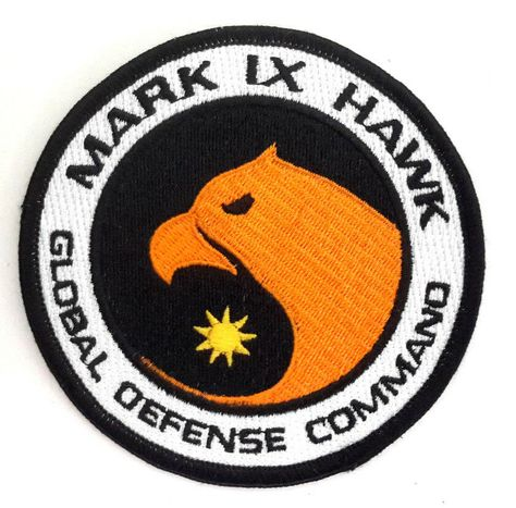 12 Different Available Cosplay Space:1999 TV Series Uniform Deluxe Patch
