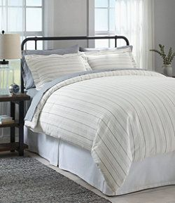 Organic Flannel Comforter Cover Collection Stripe Bed Comforter