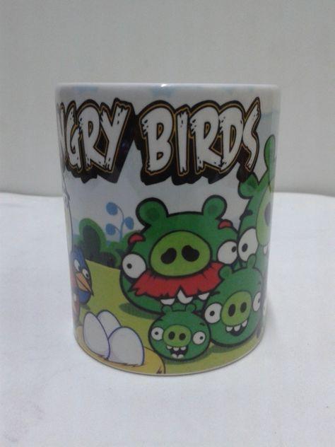 Regala mugs con los Angry Bird.