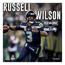 Turner Licensing Monthly Wall Calendar 12 X 12 Russell Wilson