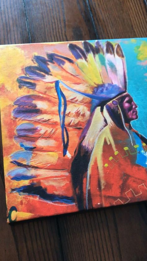 Native American Art | giclee canvas | wall decor