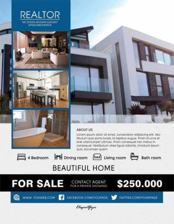 Free Apartment Flyer Templates In 2020
