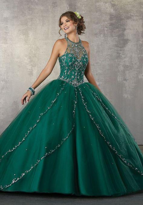 Vestidos Para Xv Color Verde Esmeralda Vestidos Para