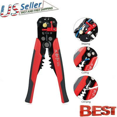 VS2# Automatic Cable Wire Stripper Stripping Crimper Crimping Plier Cutter Tool