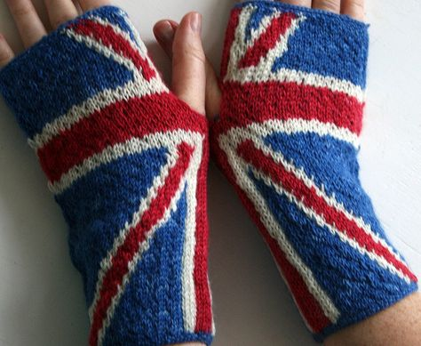 ...anarchy in the UK handwarmers by Suzanne Stallard... $3 pattern. Has a version WITH thumbs.