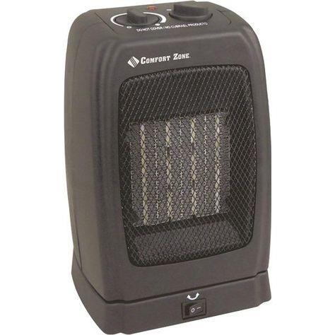 Comfort Zone Cz448 Standard Oscillating Heater Fan Heater Fan Heater Ceramic Heater