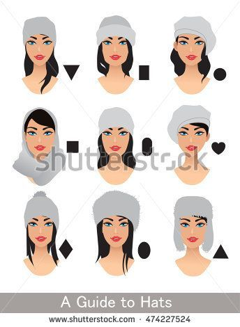 Hats For Different Head Shapes Variation To Choose A Hat Glasses For Face Shape Glasses For Your Face Shape Face Shape Hairstyles