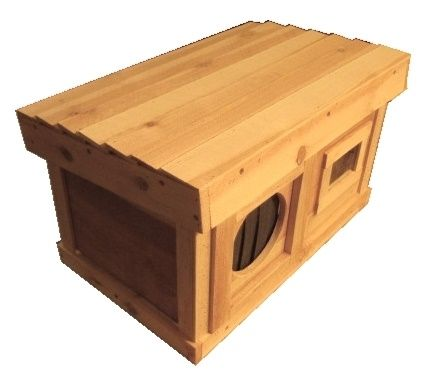 Large Warm Insulated Outdoor Cat House Homes For Feral Strays Ark Workshop Feral Cat House Outdoor Cat House Cat House