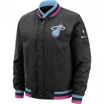 meet sports shoes latest discount Veste Miami Heat Nike NBA City Edition Courtside | Whishlist ...
