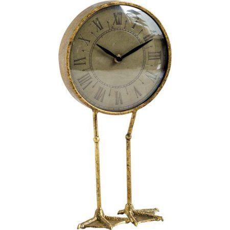 Free Shipping Buy Breakwater Bay Duck Legs Desk Clock At Walmart