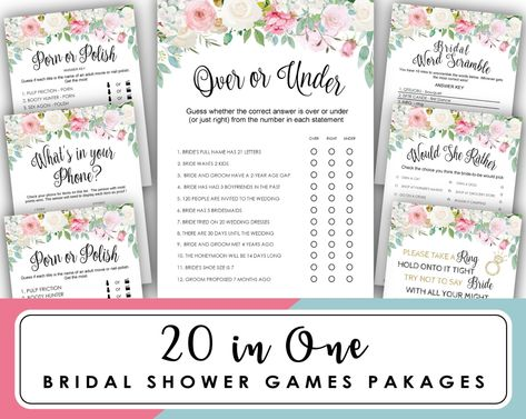 dont say bride bridal shower game bride or groom bridal shower games