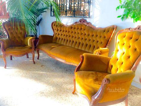 salotto-vintage-divano-e-poltrone-chippendale euro120