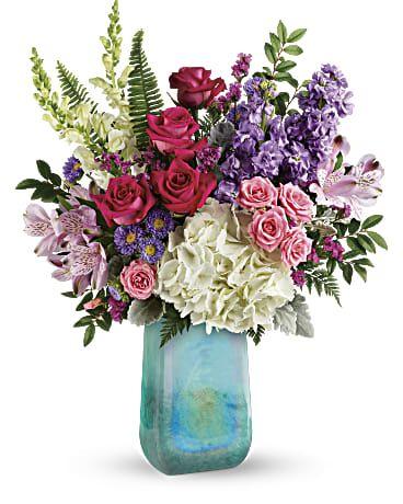 Teleflora S Iridescent Beauty Bouquet In 2020 Anniversary