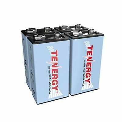 Tenergy 9v Nimh Battery High Capacity 250mah Rechargeable 9 Volt 4 Pcs In 2020 Rechargeable Batteries Solar Lights Nimh