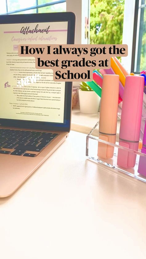 How I always got the  best grades at  School || Easy tips to get A's in every test