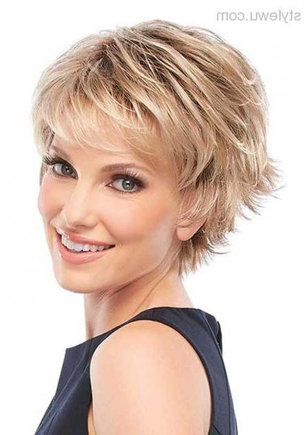 Best 25 Short Hairstyles Over 50 Ideas Only On Pinterest Short With Regard To Short Short Hair With Layers Short Hairstyles For Thick Hair Short Hair Styles