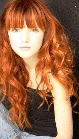 Pin By Follow Me On Are You Reddy Red Hair Blue Eyes Red Hair Curled Hairstyles