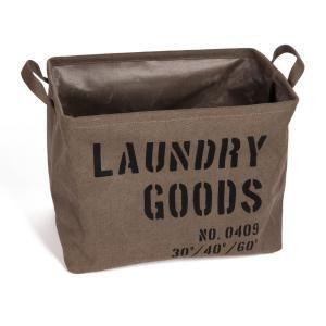 Danya B Army Canvas Laundry Basket Ly117 Military Home Decor