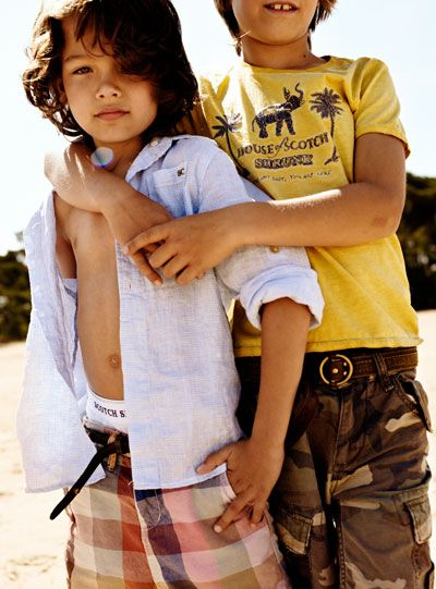 Scotch Shrunk Spring / Summer 2012 collection for boys by Scotch & Soda