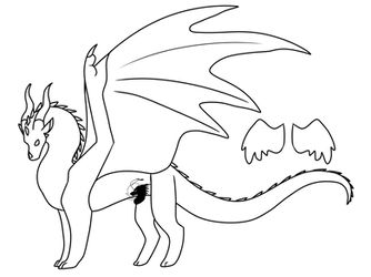 F2u Skywing Base Wings Of Fire By Owibyx On Deviantart Wings Of Fire Drawing Base Dragon Base