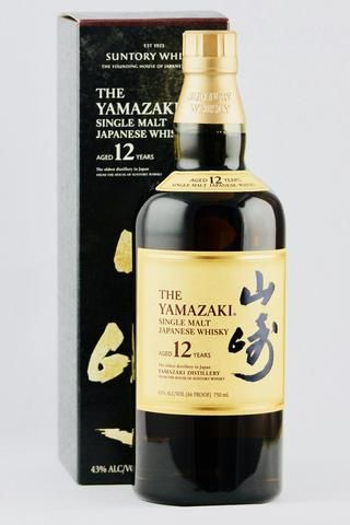 Yamazaki 12 Year Whiskey By Suntory Whiskey Japanese Whisky Good Whiskey