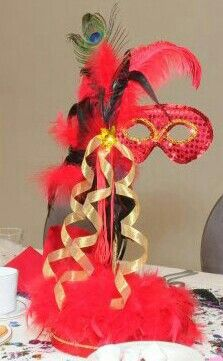 Masquerade Centerpiece By Aye Que Cute Creations Centerpiece Ideas