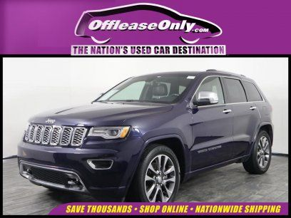 Used 2017 Jeep Grand Cherokee Overland For Sale In Miami Fl 33054