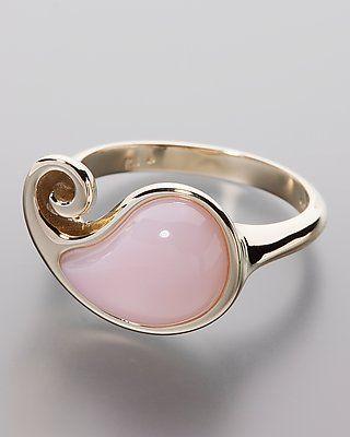 Goldring mit rosa Opal jetzt online bestellen. #Schmuck #opal #Terra #Opalis #jewellery #jewelry #ring #rose