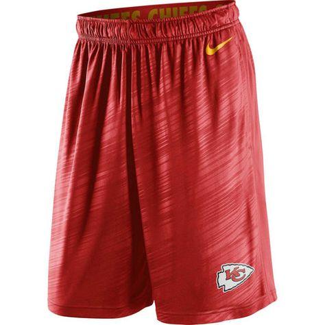 Nike Kansas City Chiefs Red Fly Warp Performance Shorts