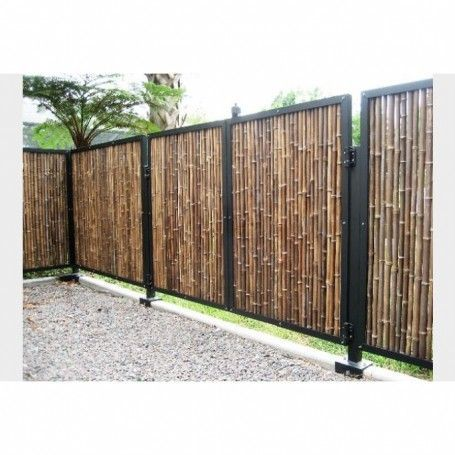 Unique Ideas Backyard Garden Design Budget Backyard Garden Oasis Dreams Backyard Garden Fence Modern Backyard Garden Tr Bamboo Fence Fence Design Fence Panels