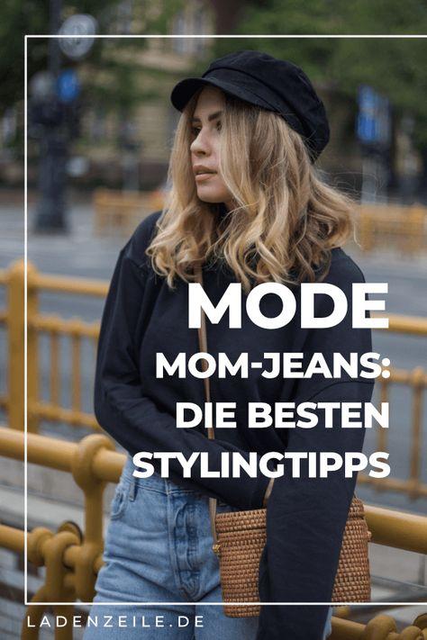 Mom-Jeans kombinieren: Entdecke unsere Tipps