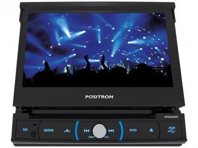 Dvd Automotivo Positron Sp6330bt Lcd 7 Retratil Touch Bluetooth