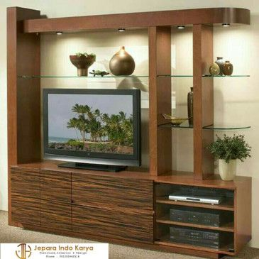 Panel Tv Ruang Tamu Desain