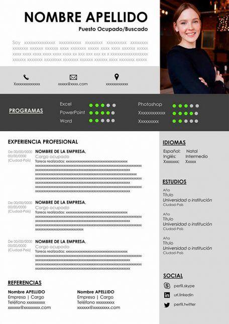 Curriculum Vitae En Blanco Para Llenar Cv Word Gratis Resume Template Word Creative Resume Creative Resume Template Free