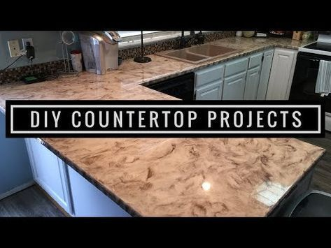 Diy Epoxy Countertops In Metallic White Silver And Coffee