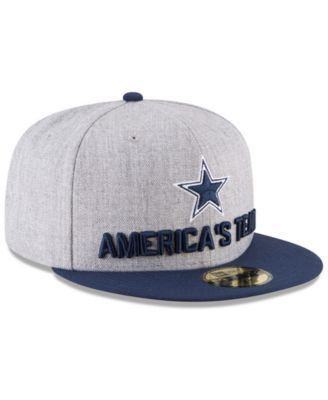4395261f16d New Era Boys  Dallas Cowboys Draft 59FIFTY Fitted Cap - Gray 6 5 8 ...