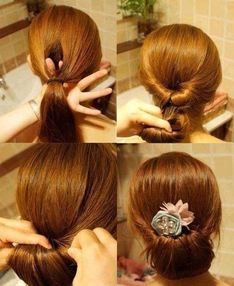 Einfache Frisur Die Beste Frisuren Frisur Standesamt Mittellange Haare Frisuren Einfach Frisur Hochgesteckt