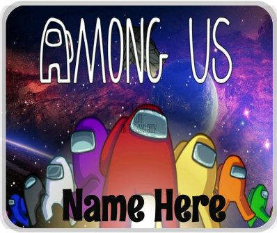 Among Us Custom Name Mouse Pad With Or Without Name Sus Etsy In 2021 Computer Wallpaper Desktop Wallpapers Iphone Wallpaper Yellow Cute Monsters Drawings