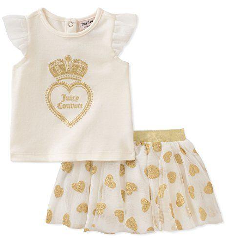Juicy Couture Baby Girls Scooter Set Vanilla Gold 24m J Https Www Amazon Com Dp B0748yl37s Ref Cm Matching Sets Outfit Girls Couture Juicy Couture Baby