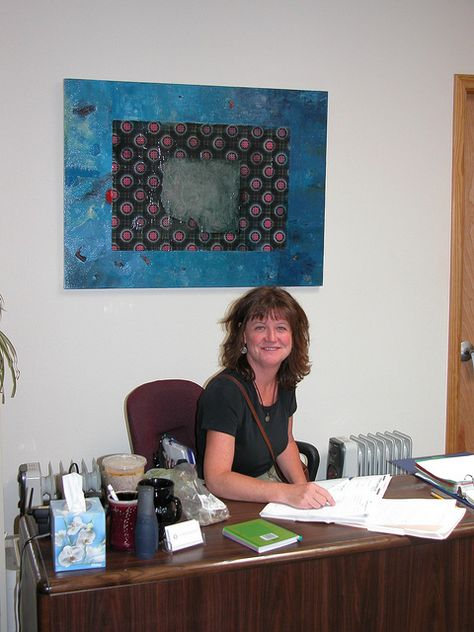 A snapshot of the Counseling Center years ago - new decorating since then :)