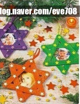 겨울미술활동 아동미술 유아미술 크리스마스미술활동 겨울어린이집환경구성 유치원환경구성 네이버 블로그 크리스마스 카드 막대기 공예 크리스마스 예술