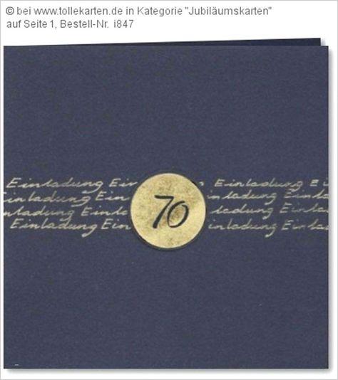 Einladungskarten Cewe Einladung 70 Geburtstag Geschenke