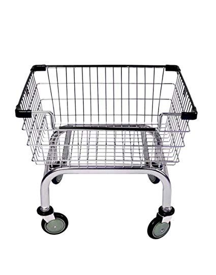 Cart Supply Coin Laundry Cart Laundry Cart Chrome Without Pole