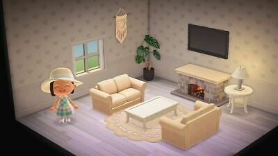 Animal Crossing New Horizons Boho Living Room Furniture Set Items Bells In 2020 Animal Crossing New Animal Crossing Animal Crossing 3ds