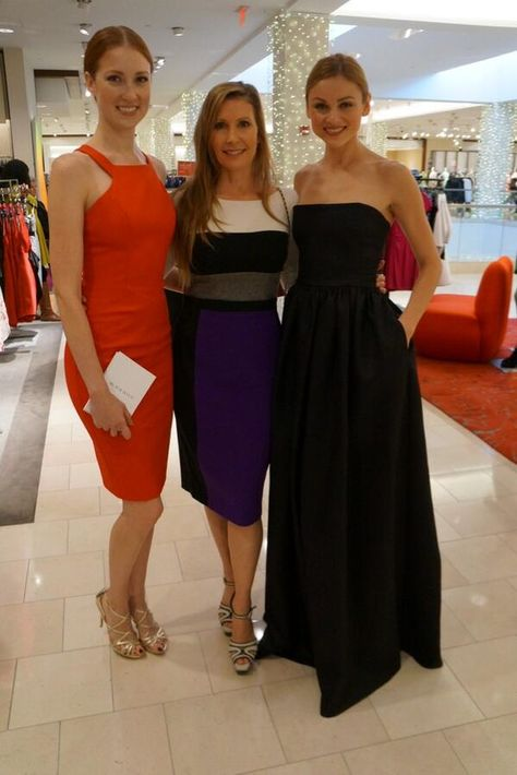 Laurel at Neiman Marcus Las Vegas with the lovely Meda & Nicole.