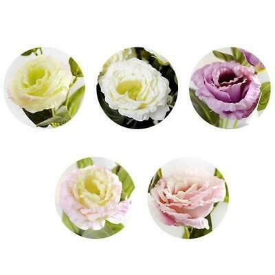 Details About 3 Heads Artificial Flower Eustoma Lisianthus Bouquet Wedding Party Decor 70cm Fake Flowers Artificial Flowers Wedding Flowers