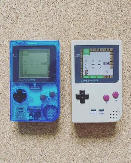 Old And New In 2021 Gameboy Custom Consoles Games